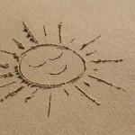 Le lait après soleil prolongateur de bronzage